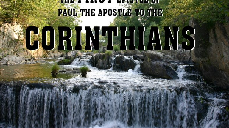 Men's Bible Study on CORINTHIANS (2011-08-30 to 2011-11-22)