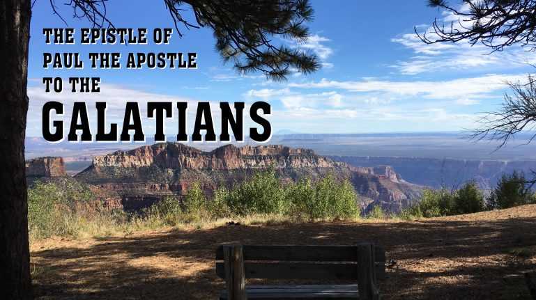 Men's Bible Study on GALATIANS (2011-07-05 to 2011-08-16)