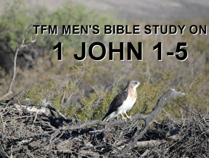 Men's Bible Study on 1 JOHN 1-5 (2014-02-04 to 2014-03-18)