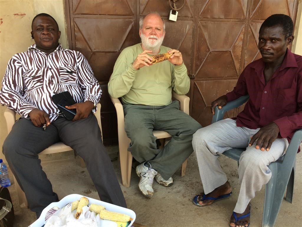 Brother Charlie's visit to Ghana