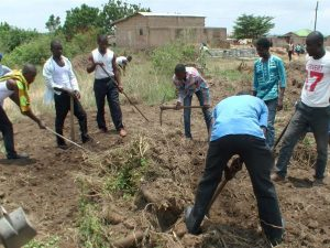Pastor Padi - Breaking Ground at Site for New Church Building