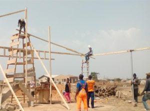 Pastor Padi - Progress for Church Building Project
