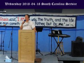 South Carolina Wednesday Service 2018-04-18
