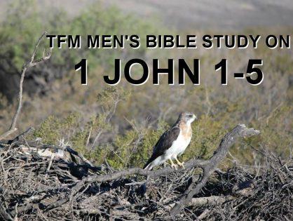 Men's Bible Study on 1 JOHN 1-5 (2014-02-04 to 2014-03-18)