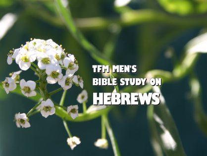 Men's Bible Study on HEBREWS (2014-10-28 to 2015-02-03)