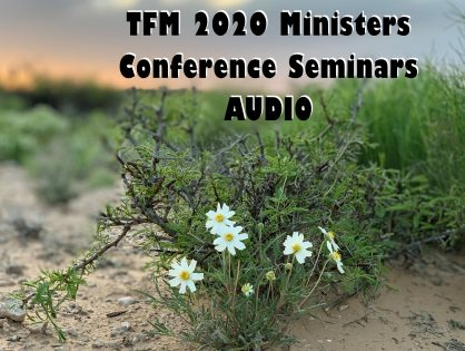 2020 Ministers Conference Seminars - AUDIO