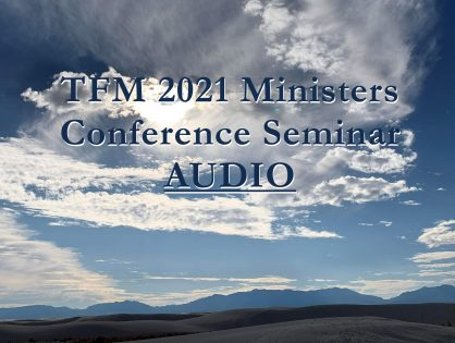 2021 Ministers Conference Seminars - AUDIO