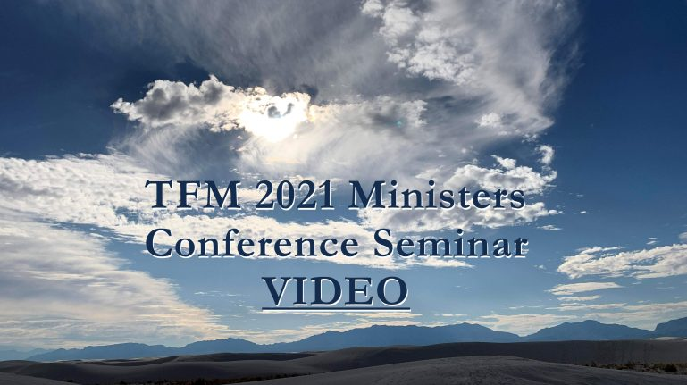 2021 Ministers Conference Seminars - VIDEOS